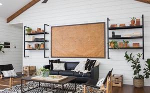 Tường sọc ngang – xu hướng thiết kế mới nổi mà bạn cần phải biết