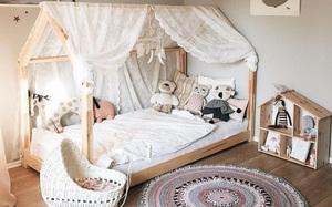 Nếu có con gái, nhất định ba mẹ nên trang trí phòng cho bé đẹp như thế này