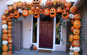Mách bạn 15 ý tưởng trang trí nhà đón Halloween vô cùng thú vị
