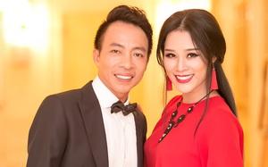 Vợ 3 con xinh như hotgirl của danh ca Việt Hoàn gây chú ý khi xuất hiện bên chồng