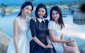 Á hậu Thùy Dung đọ sắc với Thanh Tú, Đào Thị Hà trước khi sang Nhật dự thi Hoa hậu