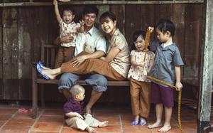 4 con của Lý Hải - Minh Hà thích thú khi được về quê làm nông dân, mò cua bắt ốc