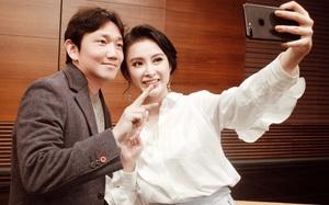 """Angela Phương Trinh tươi tắn đi gặp đạo diễn """"She Was Pretty"""" tại Hàn Quốc"""