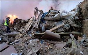 Hiện trường vụ tai nạn máy bay thảm khốc ở Thổ Nhĩ Kỳ khiến 32 người trong đó có 6 trẻ em thiệt mạng