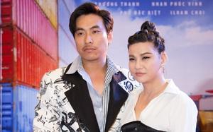 Cát Phượng mặc cá tính, tay trong tay tình tứ bên Kiều Minh Tuấn