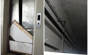 """Vừa sống vừa run trong chung cư có thang máy hỏng bị rút ruột, sâu hun hút chờ """"nuốt người"""""""