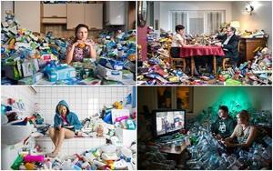 Nếu bạn chưa tưởng tượng được ngôi nhà mình sẽ như thế nào sau 4 năm không vứt rác thì đây là câu trả lời