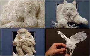 """Bạn sẽ """"ngã ngửa"""" khi biết những tác phẩm nghệ thuật này không phải là điêu khắc"""