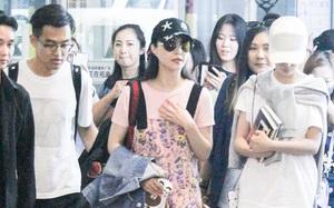 Phạm Băng Băng bất ngờ xuất hiện xuề xòa kém sắc tại sân bay