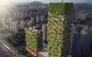 Bạn có biết: Cao ốc xanh mượt phủ kín 3.500 cây cảnh sắp sửa được xây dựng
