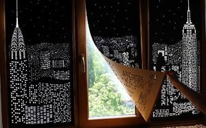 Rèm cửa đục lỗ - món phụ kiện cho bạn cảm giác như sống ở penthouse