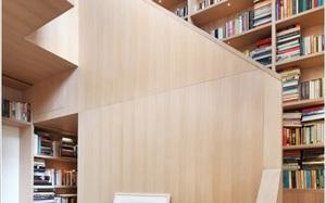 6 ý tưởng lưu trữ cực thông minh để cất được cả kho sách ở khu vực cầu thang