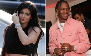 Siêu mẫu Kylie Jenner đã mang thai 4 tháng sau 5 tháng hẹn hò