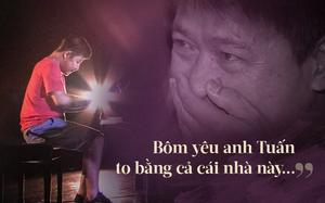 """Rơi lệ vì câu nói của Bôm - con trai Quốc Tuấn: """"Bôm yêu anh Tuấn to bằng cả cái nhà này..."""""""