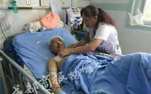 Lợi dụng bố bệnh nặng, con trai đứng ra kêu gọi quyên góp chữa trị rồi ôm tiền bỏ trốn