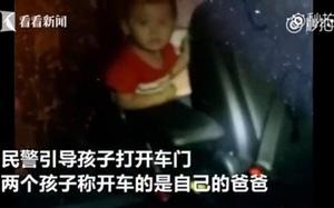 """Uống rượu lái xe gặp cảnh sát, """"ông bố của năm"""" vứt 2 con lại trong xe để trốn phạt"""