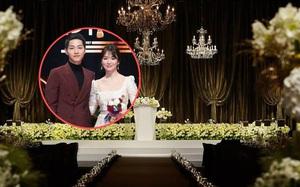 Hé lộ những hình ảnh đẹp long lanh tại địa điểm tổ chức đám cưới của Song - Song
