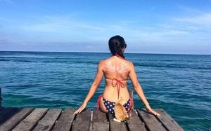 Cô gái Việt đến đảo thiên đường Sipadan bơi cùng cá mập, ở resort hạng sang, ăn buffet xả láng cả tuần với 12 triệu