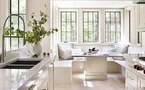 29 mẫu bàn ghế ăn khiến phòng ăn nhà bạn từ nhỏ hóa rộng thênh thang