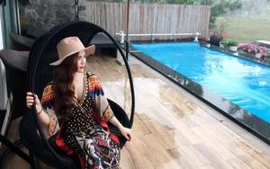"""Cuộc sống hưởng thụ của Trần Hương - cô vợ hot girl đang nắm giữ trái tim Việt Anh """"Người phán xử"""""""
