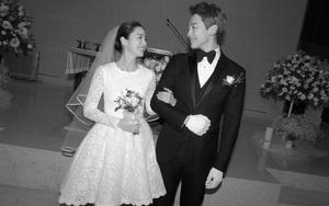 Không chỉ tổ chức đám cưới siêu tiết kiệm, Kim Tae Hee còn giản dị tới mức diện váy cưới không tên tuổi