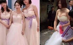 Phù dâu quá gợi cảm khiến cô dâu bị lu mờ ngay trong đám cưới