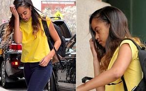 Con gái lớn của Cựu Tổng thống Obama bị kẻ xấu rình mò ở nơi thực tập