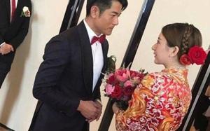 Vợ 9X của Quách Phú Thành lộ bụng bầu trong ngày cưới