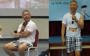 """Phó HT ĐH Hoa Sen mặc quần đùi, áo thun trong giảng bài: """"Tôi mặc như vậy để dạy sinh viên tư duy sáng tạo!"""""""