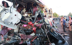 11 người chết, 33 người bị thương sau khi ôtô tải đối đầu xe khách