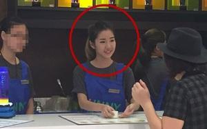 Nữ nhân viên bán hàng Malaysia xinh như hotgirl: Bán nước thôi mà, có cần đẹp vậy không!