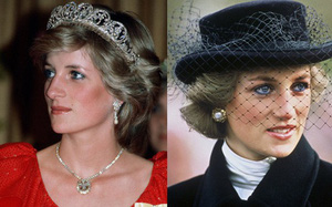Không phải đen hay nâu, công nương Diana chỉ trung thành với kẻ mắt xanh dương