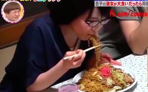 """Đi ra mắt nhà bạn trai, cô gái người Nhật hiện nguyên hình """"nữ vương ăn khoẻ"""""""