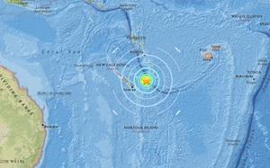 Động đất 7 độ richter gần Australia gây nguy cơ sóng thần