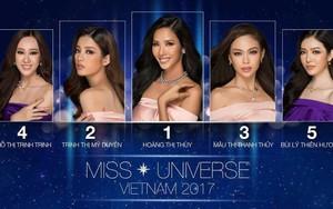 Trước thềm chung kết, Hoàng Thùy đang là thí sinh được yêu thích nhất Hoa hậu Hoàn Vũ Việt Nam