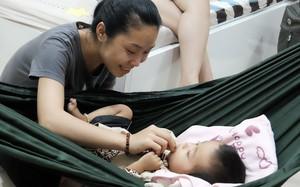 Cuộc sống mới của người mẹ đơn thân 3 tháng trời nuôi con bạo bệnh nơi xứ người