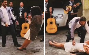 """Bạn trai cầu hôn bất ngờ, phản ứng của cô bạn gái sau đó khiến cho mọi người """"thất kinh hồn vía"""""""
