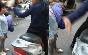 Hà Nội: Bé gái bị người phụ nữ chửi bới và tát vào mặt giữa ngã tư đường vì làm mất đồ