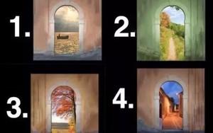 Đằng sau cánh cửa nói gì về thế giới nội tâm sâu thẳm của bạn?