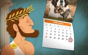 Câu hỏi quen thuộc: Tại sao tháng Hai chỉ có 28 hoặc 29 ngày?