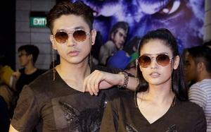 """Tim - Trương Quỳnh Anh mặc giống hệt nhau đi xem """"Tôn Ngộ Không"""""""