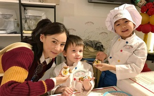 Con trai út của Trương Bá Chi nấu ăn giỏi và giống hệt bố Tạ Đình Phong