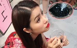 Quán mới của Hoa hậu Phạm Hương bị ném mắm tôm và sơn trong ngày khai trương