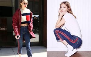 """Hàng trăm người đang """"xếp hàng"""" để mua được chiếc quần jeans này chỉ vì nó từng được Gigi Hadid diện"""