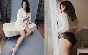 Chẳng gầy gò mảnh mai mà Karyn Inder vẫn là người mẫu béo hot nhất hiện nay