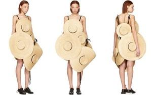 Chỉ ai thừa tiền mới bỏ ra 69 triệu đồng để mua chiếc váy được kết từ mũ cói!