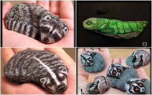 """Những viên đá vô tri vô giác cũng có thể """"biến thành"""" con vật đáng yêu như thế này đây"""