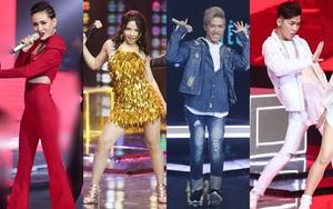 """Đây là 4 cái tên xuất sắc nhất vào Chung kết """"The Voice 2017"""""""