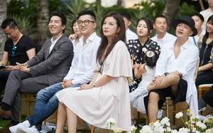 Triệu Vy bất ngờ xinh đẹp, hội ngộ Tô Hữu Bằng trong đám cưới học trò cưng