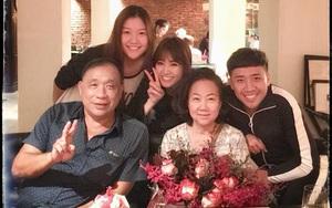 Hari Won bí mật tổ chức sinh nhật cho mẹ chồng